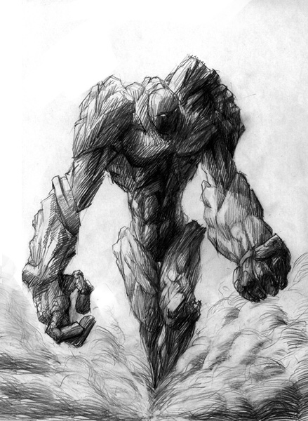 Guide des monstres découverts à ce jour Golem007copie7yd